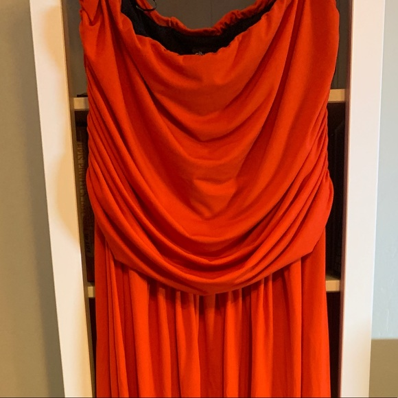 City Chic Dresses & Skirts - City Chic Orange maxi dress size L 20